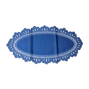 csipke 30x60ovál kék